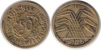 50 Reichspfennig 1925 Weimarer Republik 50 Reichspfennig 1925 E korrodi... 495,00 EUR