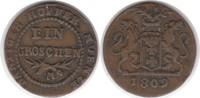 Groschen 1809 Polen Danzig unter Preussischer Herrschaft 1809 M sehr sc... 55,00 EUR  +  5,00 EUR shipping