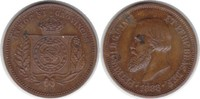 kl. Bronzemedaille 1888 Brasilien Pedro II. kleine Bronzemedaille 1888 ... 125,00 EUR  +  5,00 EUR shipping