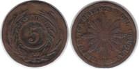 5 Centesimos 1854/40 Uruguay Republik 5 Centesimos 1854/40 Sun Face sch... 75,00 EUR  +  5,00 EUR shipping