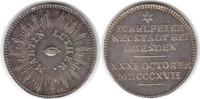 Silbermedaille 1817 Sachsen-Dresden, Stadt Silbermedaille 1817 Auf die ... 90,00 EUR  +  5,00 EUR shipping
