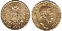 20 Mark 1913 Kaiserreich Sachsen Friedrich August III. Gold 20 Mark 191... 895,00 EUR  +  5,00 EUR shipping