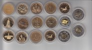 1 und 2 Dollar 1987-2000 Kanada Elizabeth II. 1 und 2 Dollar 1987 - 200... 150,00 EUR  +  5,00 EUR shipping