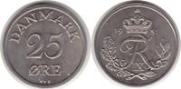 25 Öre 1951 Dänemark Frederik IX. 25 Öre 1951 fast Stempelglanz  75,00 EUR  +  5,00 EUR shipping