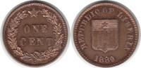 Probe Cent 1889 Liberia Probe Cent 1889 P fast Stempelglanz  350,00 EUR