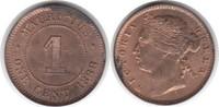Cent 1888 Mauritius Mauritius Victoria Cent 1888 fast Stempelglanz  125,00 EUR  +  5,00 EUR shipping