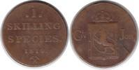 Skilling 1819 Norwegen Carl XIV. Johann 1818-1844 Schrötlingsfehler, se... 60,00 EUR  +  5,00 EUR shipping