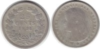 25 Cents 1896 Niederlande Wilhelmina I. 1890-1948 schön - sehr schön  65,00 EUR  +  5,00 EUR shipping