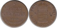 3 Krajczar 1849 NB Haus Habsburg Franz Joseph I. Ungarischer Freiheitsk... 140,00 EUR  +  5,00 EUR shipping