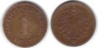 Pfennig 1877 Kaiserreich A fast vorzüglich  195,00 EUR  +  5,00 EUR shipping