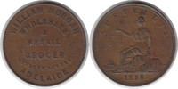 Penny Token 1858 Australien William Morgan, Adelaide winziger Randfehle... 265,00 EUR  +  5,00 EUR shipping