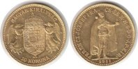 Ungarn 10 Korona 1911 GOLD. Vorz&uuml;glich Ungarn Franz Josef I. Gold 10 Kor... 165,00 EUR 