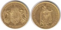 Ungarn 10 Korona 1910 GOLD. Vorz&uuml;glich Ungarn Franz Josef I. Gold 10 Kor... 165,00 EUR 