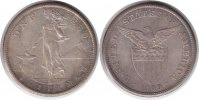 Philippinen Peso 1909 Vorz&uuml;glich + Philippinen Peso 1909 S 85,00 EUR 