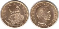 D&auml;nemark 10 Kroner 1900 GOLD. vorz&uuml;glich - Stempelglanz D&auml;nemark Christi... 250,00 EUR 