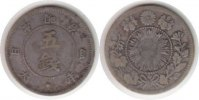 Japan 5 Sen 1871 Fast sehr sch&ouml;n Japan Mutsuhito 5 Sen 1871 60,00 EUR 
