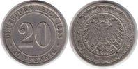 20 Pfennig 1892 Kaiserreich 20 Pfennig 1892 G winz. Randfehler, sehr sc... 60,00 EUR  +  5,00 EUR shipping