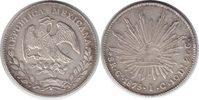 8 Reales 1875 Mexiko Zweite Republik 8 Reales 1875 Guadalajara vorzügli... 165,00 EUR  +  5,00 EUR shipping