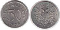 50 Groschen 1936 Österreich Erste Republik 50 Groschen 1936 winz. Kratz... 85,00 EUR
