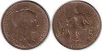 5 Centimes 1909 Frankreich Dritte Republik 5 Centimes 1909 fast Stempel... 65,00 EUR  +  5,00 EUR shipping