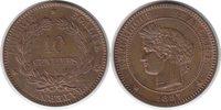 10 Centimes 1897 Frankreich Dritte Republik 10 Centimes 1897 A, Paris f... 60,00 EUR  +  5,00 EUR shipping