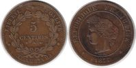 5 Centimes 1877 Frankreich Dritte Republik 5 Centimes 1877 A, Paris Sel... 55,00 EUR  +  5,00 EUR shipping