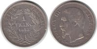 Franc 1853 Frankreich Napoleon III. Franc 1853 A, Paris Kratzer & Randf... 65,00 EUR  +  5,00 EUR shipping