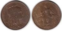 5 Centimes 1913 Frankreich Dritte Republik 5 Centimes 1913 Stempelglanz  55,00 EUR  +  5,00 EUR shipping