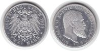 Probe 2 Mark 1914 F Württemberg Wilhelm II. Riffelrand. Zink, aluminium... 1050,00 EUR