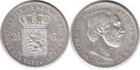 2 1/2 Gulden 1852 Niederlande Wilhelm III. 2 1/2 Gulden 1852 kl. Kratze... 60,00 EUR  +  5,00 EUR shipping
