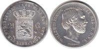 2 1/2 Gulden 1868 Niederlande Wilhelm III. 2 1/2 Gulden 1868 Berieben, ... 55,00 EUR  +  5,00 EUR shipping