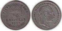 20 Krajczar 1870 Ungarn Franz Joseph I. 20 Krajczar 1870 GYF winz. Krat... 75,00 EUR  +  5,00 EUR shipping