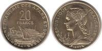 Probe 20 Francs 1968 Französische Kolonien Afars & Issas Probe 20 Franc... 60,00 EUR  +  5,00 EUR shipping