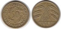 50 Rentenpfennig 1923 Weimarer Republik 50 Rentenpfennig 1923 F sehr sc... 80,00 EUR  +  5,00 EUR shipping