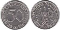 50 Pfennig 1939 Drittes Reich 50 Pfennig 1939 J Nickel fast vorzüglich  65,00 EUR  +  5,00 EUR shipping