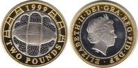 2 Pfund 1999 Grossbritannien Elizabeth II. Gold/Silber 2 Pfund 1999 Auf... 80,00 EUR