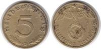 5 Pfennig 1936 D Drittes Reich  Flecken. Sehr schön  60,00 EUR  +  5,00 EUR shipping