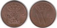 Cent 1837 Niederlande Wilhelm I. 1815-1840 Prachtexemplar. Fast Stempel... 155,00 EUR  +  5,00 EUR shipping