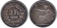 2 Franken 1850 A Schweiz Eidgenossenschaft sehr schön  195,00 EUR  +  5,00 EUR shipping