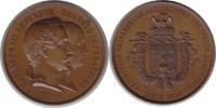Bronzemedaille 1861 Frankreich-Metz, Stadt Auf die Weltausstellung der ... 135,00 EUR
