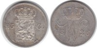 25 Cents 1826 Niederlande Wilhelm I. 1815-1840 sehr schön  55,00 EUR  +  5,00 EUR shipping