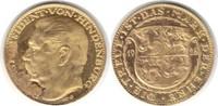 Goldmedaille 1928 Paul von Hindenburg Probe zu 10 Mark GOLD. Klebereste... 215,00 EUR