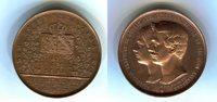 Bronzemedaille 1854 Altdeutschland Anhalt-Dessau Friedrich I. 1871-1904... 135,00 EUR  +  5,00 EUR shipping