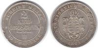 2 Neugroschen 1863 Sachsen-Albertinische Linie Johann 1854-1873  B kl. ... 50,00 EUR  +  5,00 EUR shipping