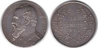 Silbermedaille 1901 Bayern Prinzregent Luitpold 1886-1913 Auf seinen 80... 70,00 EUR  +  5,00 EUR shipping
