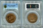 Penny 1950 Südafrika  PCGS PR 65 RB  80,00 EUR  +  5,00 EUR shipping