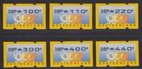 100 - 440 Pfg. 1999 Bundesrepublik Deutschland ATM kompletter Versandst... 49,00 EUR  +  5,00 EUR shipping
