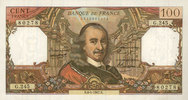 6.4.1967 NOTES OF THE BANQUE DE FRANCE Banque de France. Billet. 100 f... 40,00 EUR  +  7,00 EUR shipping