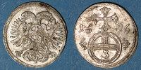 1696 EUROPE Silésie. Léopold I (1657-1705). 3 pfennig 1696. Opole (Opp... 35,00 EUR  +  7,00 EUR shipping