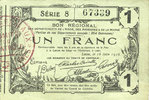 16.6.1916 FRENCH EMERGENCY NOTES Aisne, Ardennes et Marne - Bon région... 12,00 EUR  +  7,00 EUR shipping